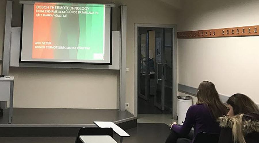 Bosch Termoteknik Akademi'den BAU Öğrencilerine HVAC Sistemleri Dersi