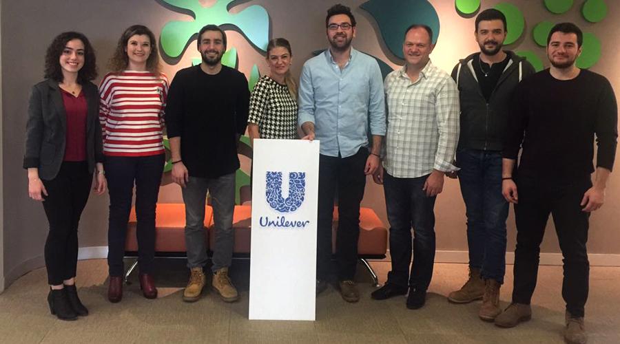 BAU'lu COOPER'lar Unilever Y Kuşağı Projesi'nde!