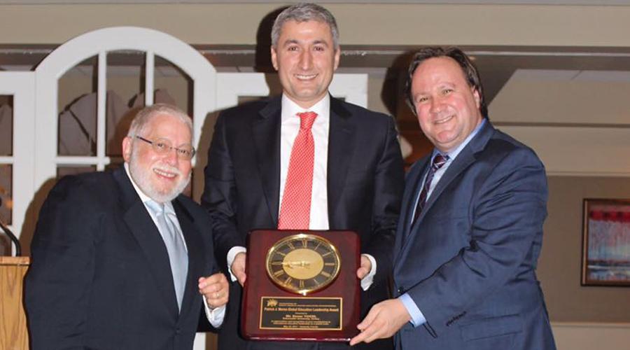 BUEK Başkanı Enver Yücel'e ABD'den Anlamlı Ödül